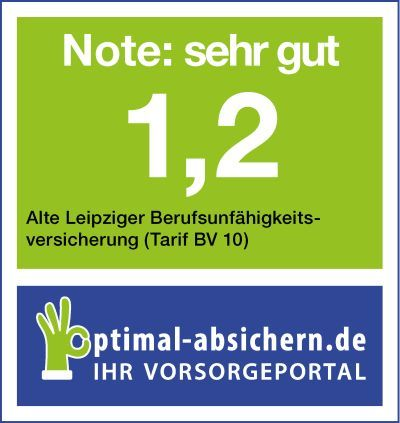 berufsunf higkeitsversicherungen der alte leipziger tarif bv 10 im test. Black Bedroom Furniture Sets. Home Design Ideas